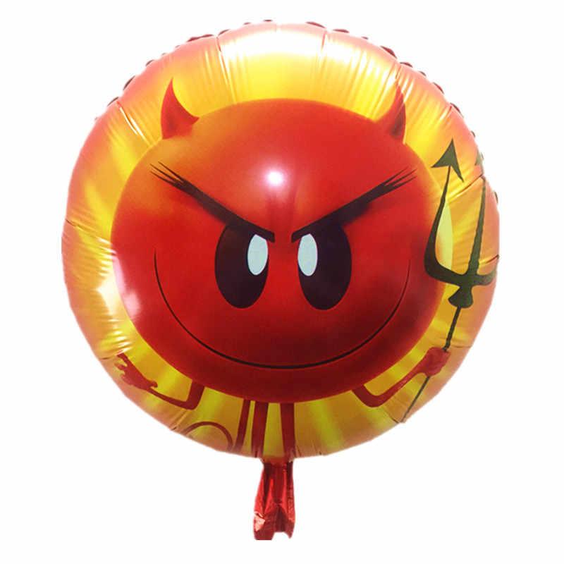 1pcs Cartoon Emoji Balloons Star Helium Balloon Inflatable Children Classic Toys Happy Birthday Party Supplies