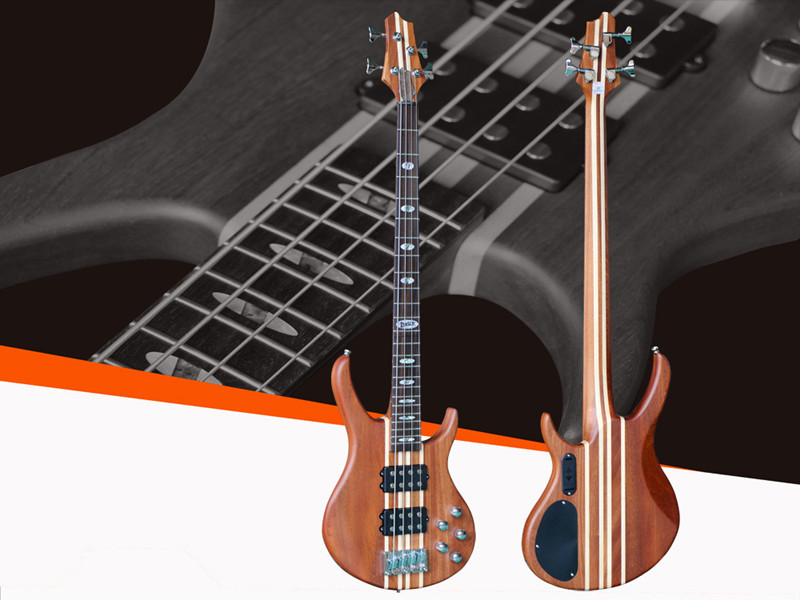 Jazz Bass Electric Bass Guitar 4 String Sapele Body Rosewood Fingerboard Dual Pickup For Professional Performance new arrival es 175 model jazz electric bass guitar 4 string bass hollow body es175 in blue 130109