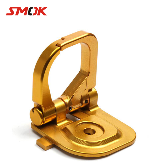 SMOK Motorcycle Accessories CNC Aluminum Motorcycle Bike Hook Carry Helmet Luggage For Yamaha BWS R 125 CYGNUS 125 2016-2017