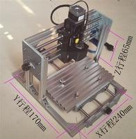 Russia No Tax Disassembled Pack Mini CNC 2417 500mw Laser CNC Engraving Machine Wood Carving Machine