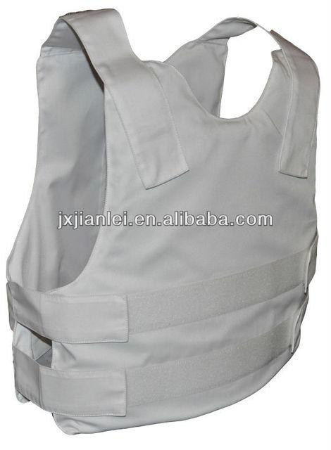 Frete Grátis! Tamanho XL de Aramida Dupont Escamoteáveis Colete À Prova de Balas NIJ 3A/Extra Grande De Aramida Balística NIJ IIIA Covert Vest