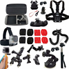 Camera Case Chest Strap Selfie Stick For Sony Action Cam Accessories X1000v AS30 SJ4000 Sports Action