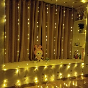 Image 4 - Waterproof 3x2M/3x3M/3x6M LED Waterfall String Lights Holiday Curtain Icicle Light Wedding Christimas Party Decor Lights Garland