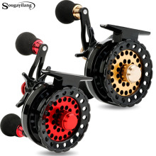 Sougayilang Raft Fishing Reel Gear Ratio 2.6:1 Right Fly Fishing Wheel Former Rafting Ice Fishing Reel Fishing Gear/Tool