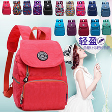 Nylon bag autumn winter new Korean version light waterproof nylon cloth primary school shoulder travel