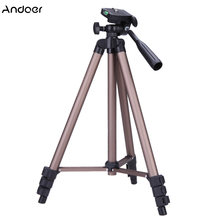 Andoer WT3130 Tripod Camara Profesional Camera Tripod Mini Tripod For Phone For Canon Nikon Sony DLSR Camera(China)