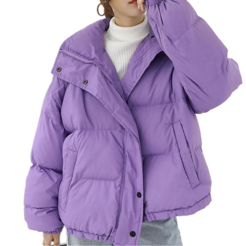 Automne hiver veste femmes vêtements en coton manteau femme Parka décontracté épais vestes étudiant court lâche chaud manteau femmes Q1698