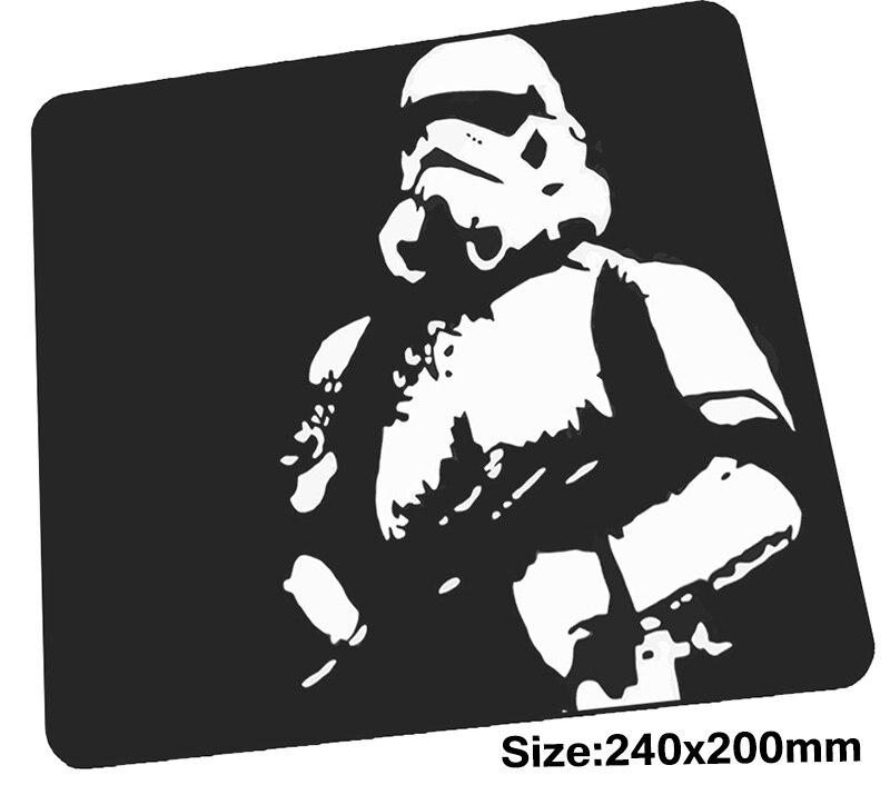 Звездные войны коврик для мыши 240x200x3 мм коврики для мыши лучший игровой коврик для мыши геймер подарок на Хэллоуин коврики для мыши с вашим р...