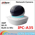 Dahua Built-in Mic & Speaker HD PT 3MP Wi-Fi Network Camera dahua baby monitor IPC-A35,free Shipping