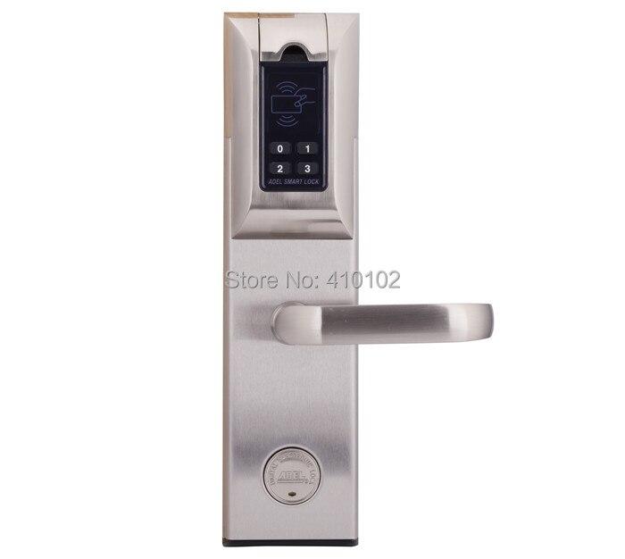 Fingerprint Door lock Adel lock 4920 4 in 1 (Fingerprint+Password+Mechanical Key+Card)