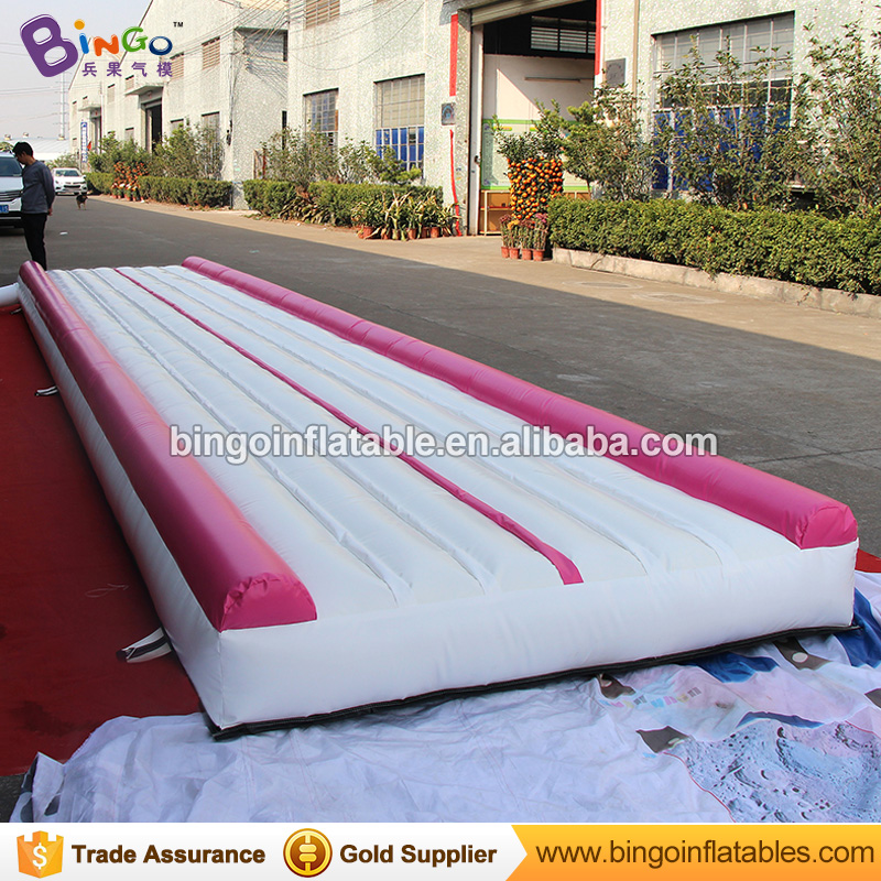 Free Shipping PVC Material 30ft*7ft*1ft Inflatable Gymnastics Mat Air Track Mat with Free Blower toys for children & adults ao058m 2m hot selling inflatable advertising helium balloon ball pvc helium balioon inflatable sphere sky balloon for sale