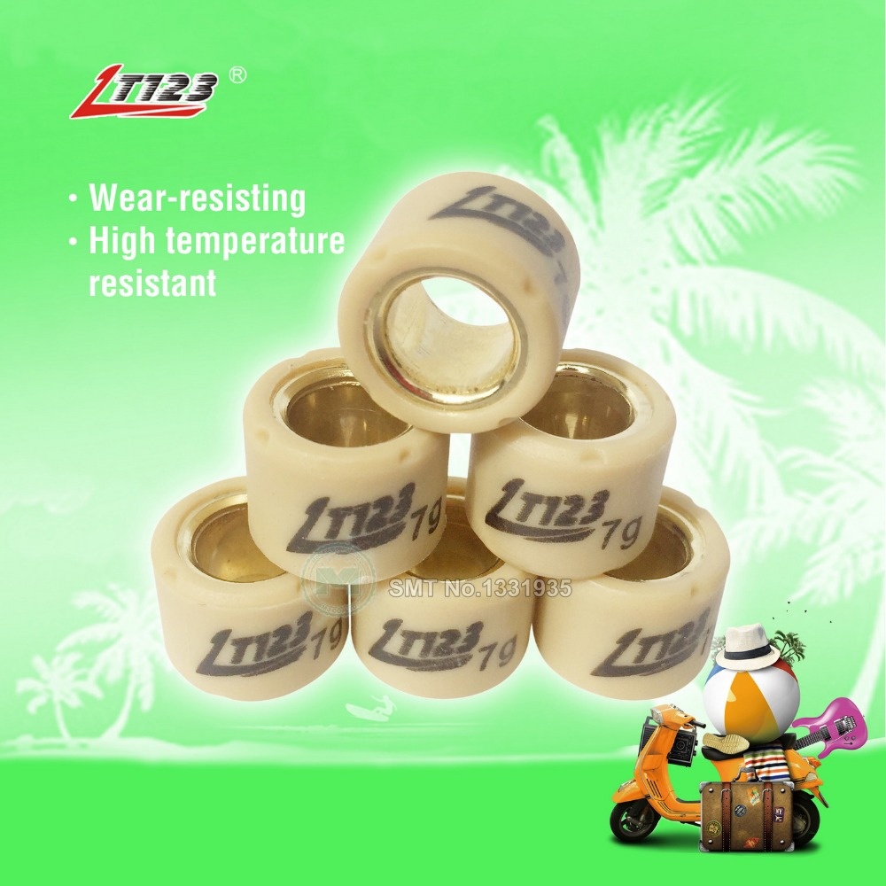 Motorcycle Scooter Performance Drive Pulley Weight Variator Roller Set 15 X 12 For BWS JOG 50 90 100 RSZ ZERO CUXI 100 MIO 6pcs