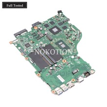 NOKOTION DAZAAMB16E0 NBGDZ11002 NB.GDZ11.002 For acer aspire E5-575 E5-575G laptop motherboard SR2EY I5-6200U CPU GTX950M DDR4