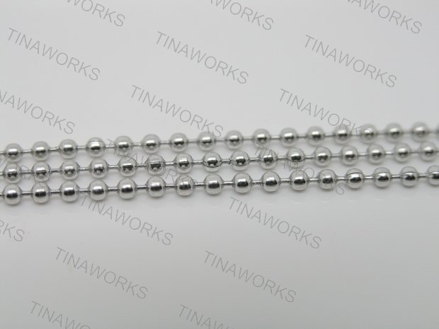 Lot of 100pcs 28 70cm Stainless Steel Ball Chain Necklaces 2 4mm Bead for Bottle Cap