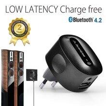 Avantree aptX NIEDRIGE LATENZ Bluetooth Empfänger für Lautsprecher Home Stereo HiFi Drahtlos Musik Audio Strom von PC Telefon-Roxa Plus