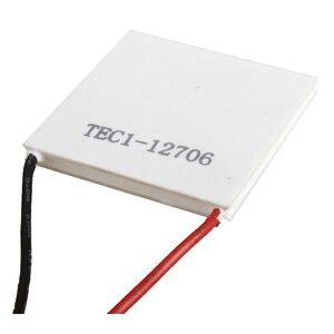 Image 3 - 12v 5.8a 65w TEC1 12706 termoelétrico cooler refrigerar peltier placa módulo 40x40mm