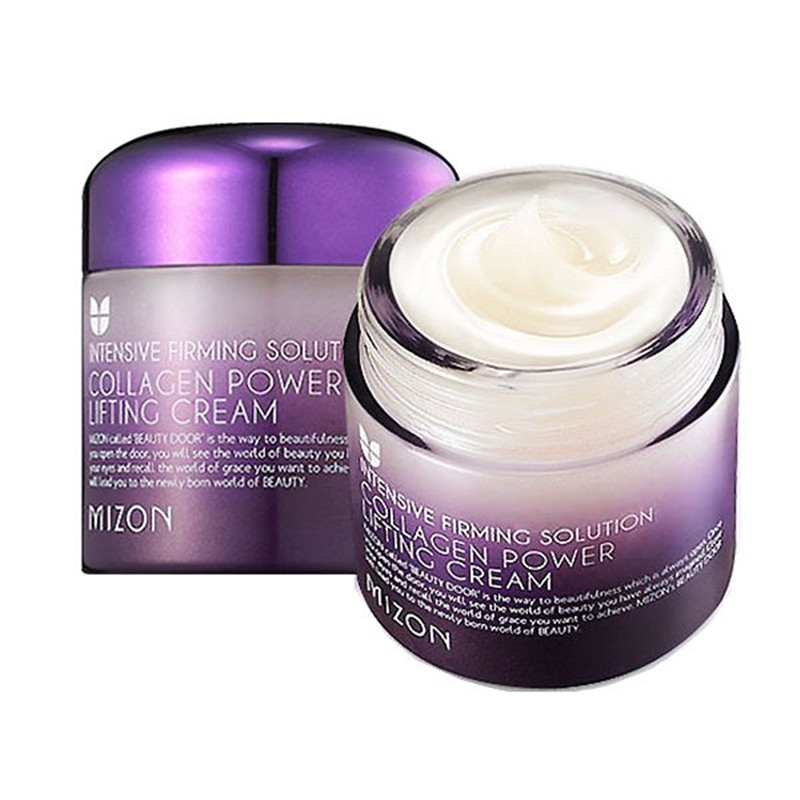 MIZON Collagen Power Lifting Cream 75ml Face Skin Care Whitening moisturizing Anti-aging Anti Wrinkle Korean Facial Cream argireline matrixyl 3000 peptide cream hyaluronic acid ha wrinkle collagen firm anti aging skin care equipment free shipping
