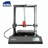 WANHAO أكبر FDM طابعة ثلاثية الأبعاد D9/500 مارك II MK2 ماكس منطقة الطباعة 500*500*500 مللي متر المنزل/الصناعية/التعليم استخدام تنسيق كبير