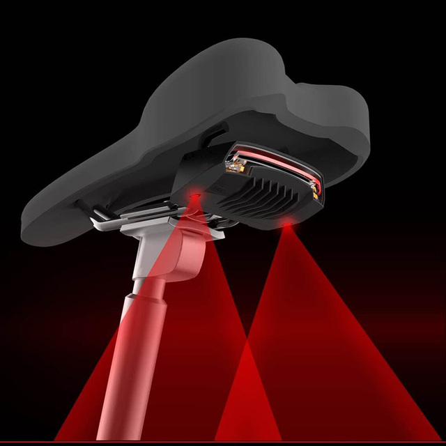 Rear Bike light Taillight Safety Warning USB Rechargeable Bicycle Light Tail Lamp Comet LED Cycling Bicycle Light GIYO Hot Sale