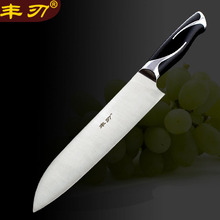 Special master chef kitchen knife stainless steel 5CR15MOV can slice beef / meat  / vegetable /fruit /melon+Kitchen Accessories