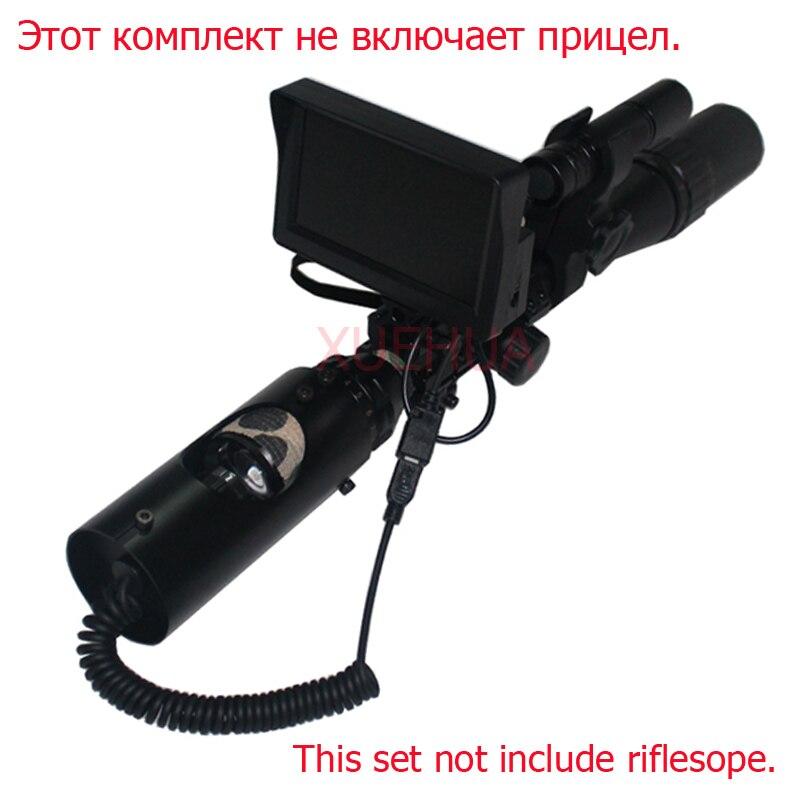 óptica visão noturna riflescope rifle tático scope