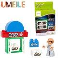 Duplo UMEILE Original Clásico Bloque De Construcción Grande Ladrón Mala Persona el Robo del Banco Juguetes Para Niños Compatibles con Duplo Legoe Regalo