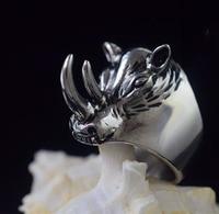 Носорог предотвращения столкновений titanium стальное кольцо, оружие самообороны, самообороны кольцо, обувь для мужчин и женщин