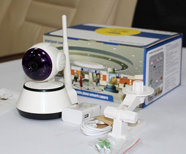 Home Security IP Camera Wireless Mini Camera Infrared Surveillance Camera HD 720P CCTV Camera with WiFi alarm system hd ip camera wifi wireless home security camera surveillance camera two way audio infrared add door pir sensor cctv alarm system
