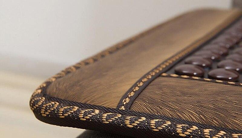 Нефритовая диванная подушка анион германиевый камень ворс кофе Отопление увлажняющий диван подушка для здоровья - 4