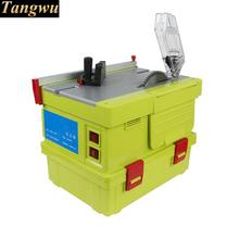 Free shipping Multi purpose cutter Small table floor Clean chainsaw dust free air saw Circular saws