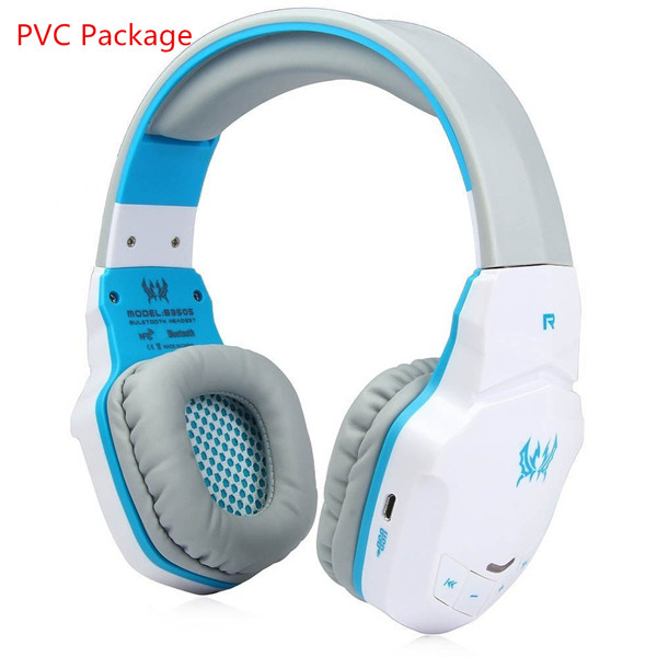 New Version Wireless Bluetooth Stereo Gaming Headphones Headset EACH B3505  With Volume Control Microphone HiFi Music Headsets