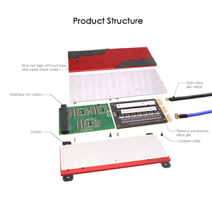 Image 2 - Deligreen 13S 80A 100A 120A 150A 200A 250A 48V PCM/PCB/BMS do akumulatora li po LiNCM 18650 akumulator litowo jonowy