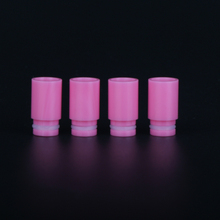 Sailing electronic cigarette 510 derlin drip tips pink color for 510 tank atomizer free shipping