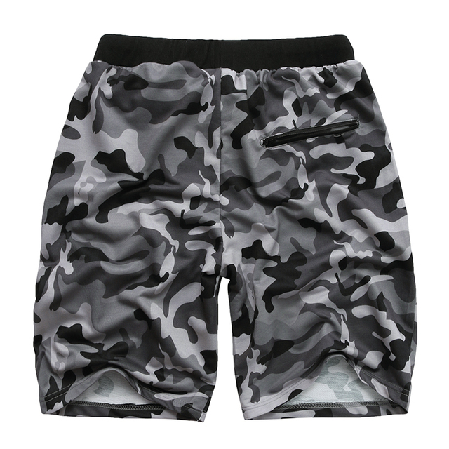 Camouflage Men's Shorts Loose Calf Length Sweatpants  5