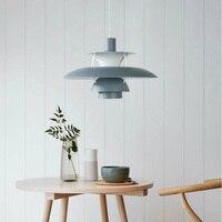 Nordic PH5 Луи Поульсен подвесной светильник современный минималистский кулон легкие алюминиевые Дании дизайн светильник подвесной освещения