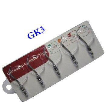 5 pieces/lot Dental Ultrasonic Scaler Tip GK3 for KAVO/SIRONA SROAIR Scaling handle цена 2017
