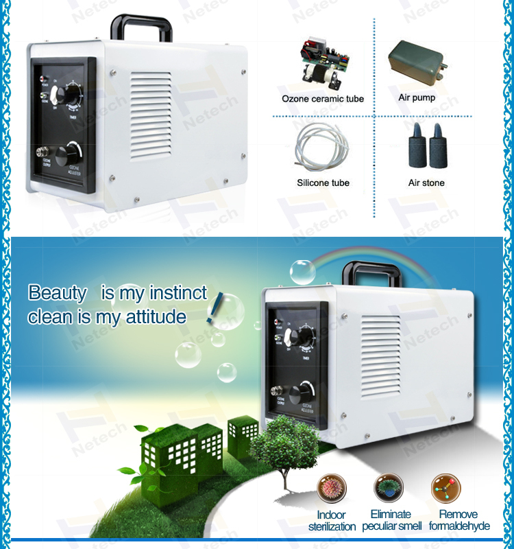 Hot 3g Home Use Version Portable Air Cooling Ozone Generator For Food And Fruit