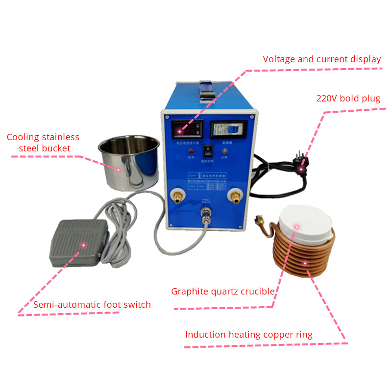 ZVS-Low-voltage-High-frequency-Induction-Heating-Machine-Metal-Smelting-Furnace-High-Frequency-Welding-Metal-Quenching