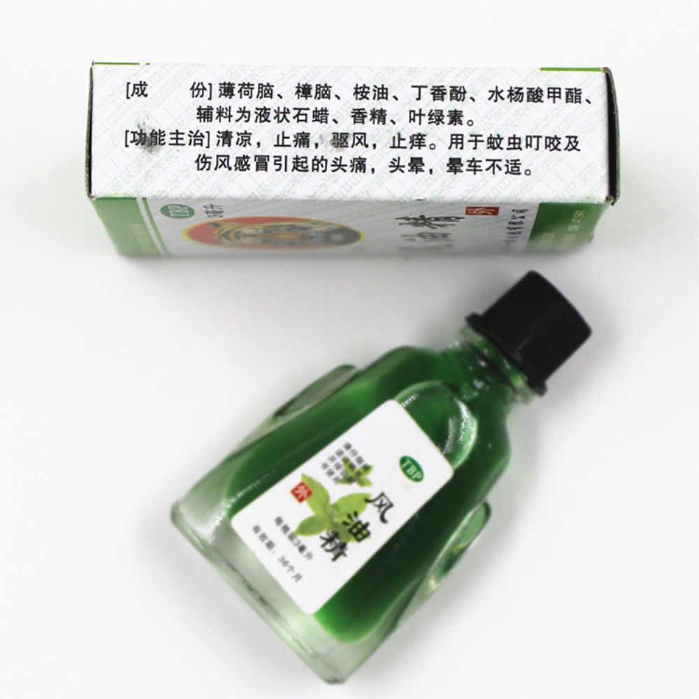 3 ML menthe fraîche traitement des maux de tête froid coup de chaleur nez arrêté huiles essentielles prix usine huile de Massage