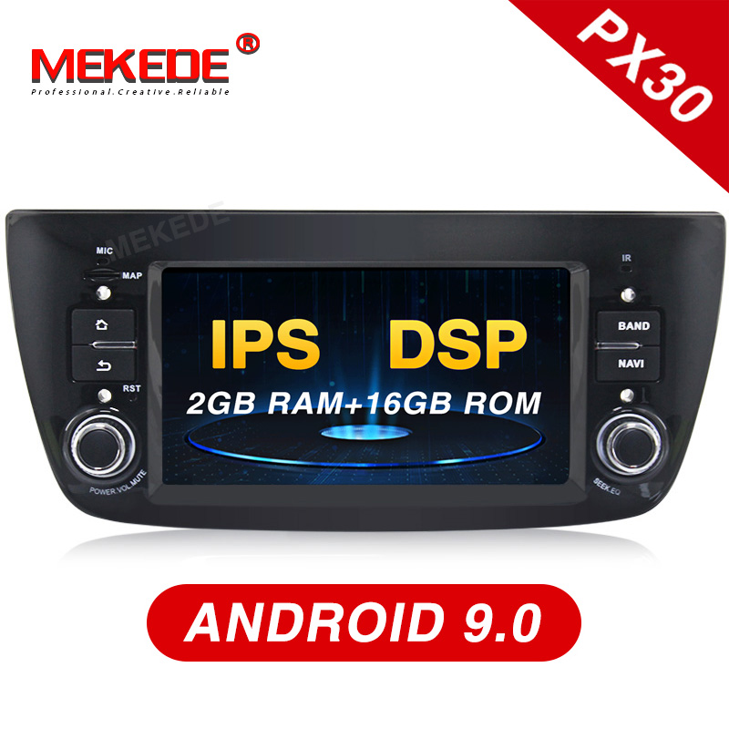 Mekede PX30 IPS DSP Android 9 0 Car Radio Stereo for Fiat Doblo 2010 2015 Auto