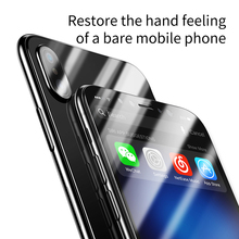 Baseus Glass Film Set for iPhone X (Front Film and Back Film)