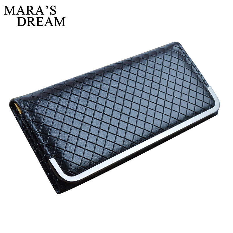 Mara's Dream High Quality 2018 Envelope Women Wallet Color Two Fold 6 Colors PU Leather Wallet Long Ladies Clutch Coin Purse