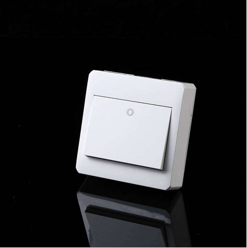 Free Shipping, Surface Mounted Wall Switch 1 Gang 1 Way Control,PC fireproof frame. цены