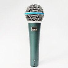 Karaoké portable filaire microphone dynamique pour sm 58 57 Beta58a beta58 bm800 pc saxophone lecture église professeur chanter micro