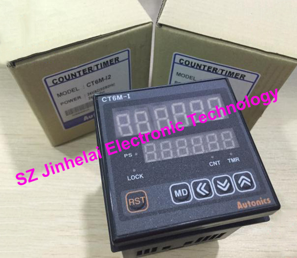 CT6M-I2 New and original Autonics Count relay 24VAC/24-48VDC Counter/timer шайба diffusor sh25 11
