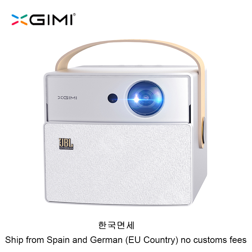XGIMI CC Aurora Mini Portable DLP Projector Home Theater Android Wifi 3D Support 4K HD Video With Battery Videoprojecteur Beamer newpal dlp projector full hd video mini 3d projector android 7 0 portable beamer support wifi miracast airplay dlna tf tv