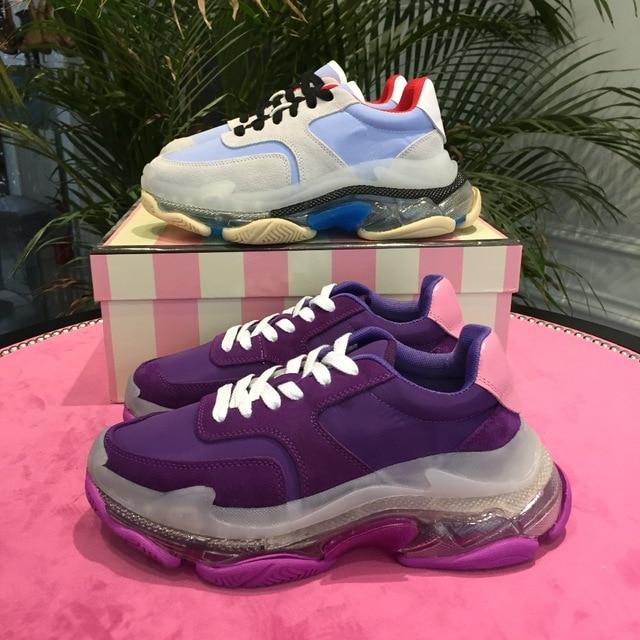 Feminino Pic Alleinige Up Wohnungen Sapato Frauen Heißer Mischte As as Plattform Sneakers Lace Schuhe Frau Pic Beiläufige 2019 Chaussures Kristall Femmes SIOqzwnUn