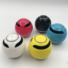 HEONYIRRY Bluetooth Mini Speaker Receiver Boombox FM Radio Portable Amplifier MP3 Subwoofer With Mic Loudspeaker