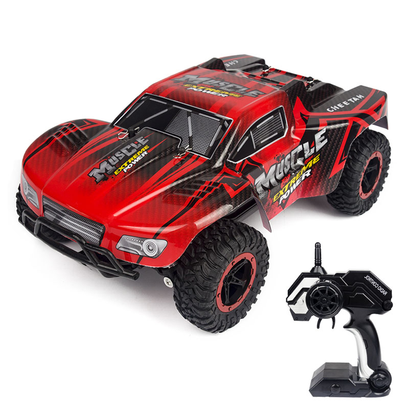 купить 1:16 RC Super Cross-Country Climbing Vehicle Car 2.4G 2WD Radio RC Car Buggy High Speed SUV Bigfoot Drift Remote Control Toy Car по цене 2575.75 рублей