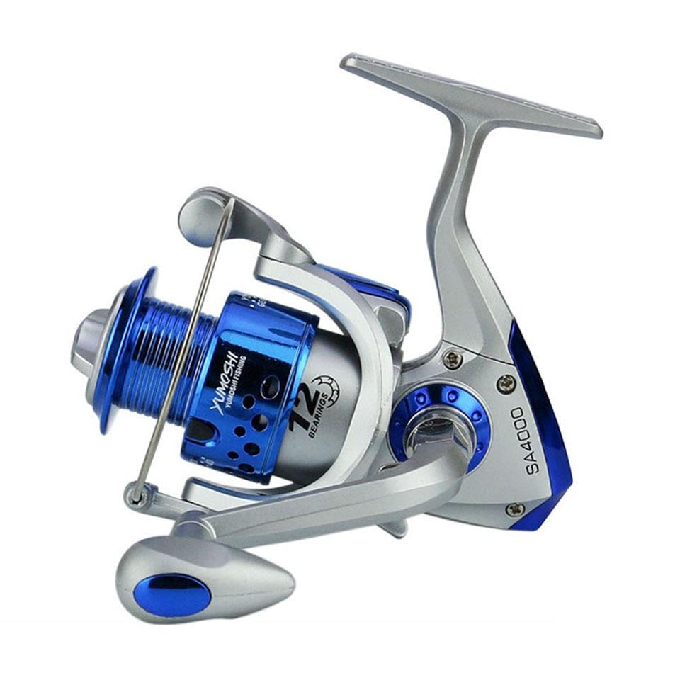 1 Half Fishing Windlass Reel Machined with Han S1W3 YUMOSHI 12BB Gear Ratio 5.5
